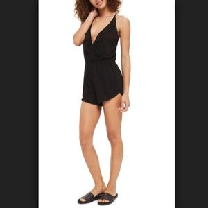TopShop | Jersey Wrap Romper | Small